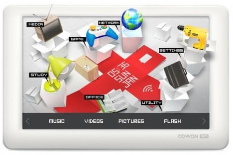 A peine le buzz du Cowon X7 retombé, que le Coréen Cowon annonce un nouveau PMP : Le Cowon3D. Comme son nom l'indique il supporte la lecture vidéo 1080p en 3 dimensions (sans lunettes) grâce à un écran de 4,8″ avec résolution de 800×480 pixels. Il permettra aussi de naviguer sur internet grâce à son […]