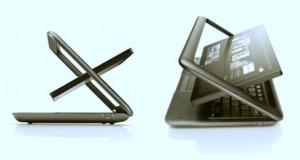 Prenez une tablette, un notebook et vousobtenezle Del Inspiron Duo: Une tablette hybride pourrait être le qualificatif de l'Inspiron Duo, ce n'est pas forcément une grande avancée technologique mais c'est hybride pas inintéressant. Cet hybride offre le coté pratique de la tablette mais aussi la possibilité de faire plus grâce au clavier, et surtout au hardware bien au dessus de nombre de tablettes actuelles.