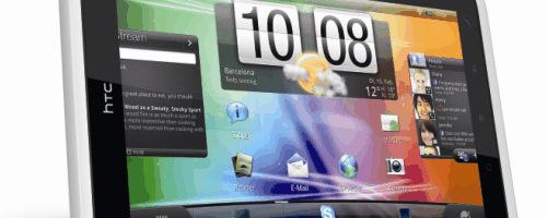 HTC a hier présenté sa prochaine tablette la HTC Flyer (déja présenté au MWC) qui devrait arriver fin avril début juin. La tablette qui profite d'un design et d'une finition très soignée comme sait le faire la marque est propulsée par un processeur Qualcomm cadencé à 1.5GHz et 1Go de RAM. Elle dispose d'un stylet […]