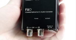 Fiio vient de sortir leur dernier produit, le Fiio D3, un DAC.