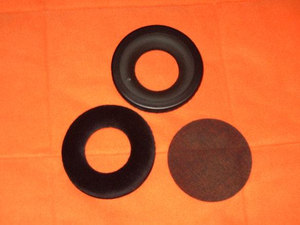 Pads standards du GMP 400 avec le tissu de protection des drivers