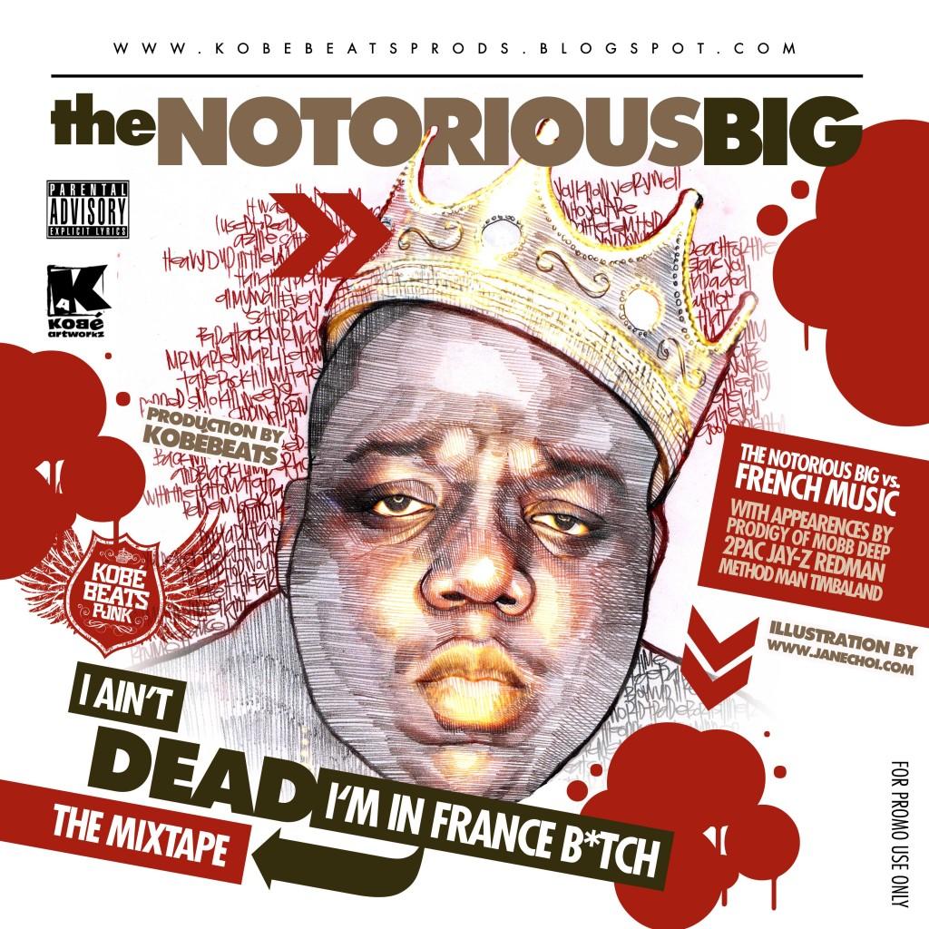 Le 9 mars dernier on commémorait l' anniversaire de la mort de Notorious Big, Kobé Beats a réalisé pour l' occasion une mixtape remixant les couplets phares de Biggie avec des samples de variété française.