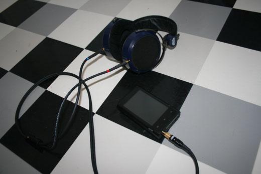 Combo iBasso DX100 - HiFiMAN HE-400 - vue 4