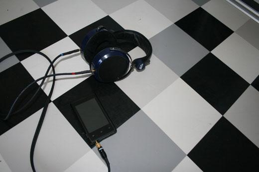 Combo iBasso DX100 - HiFiMAN HE-400 - vue 5