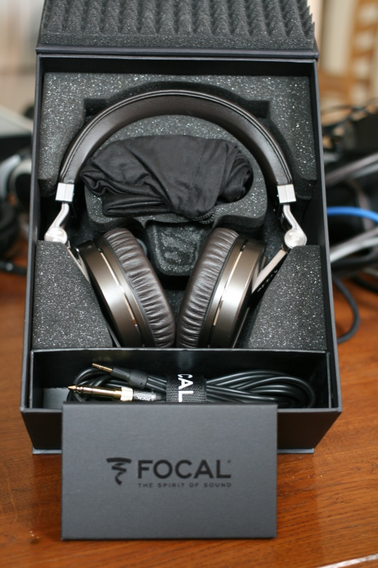 Focal Spirit Classic au déballage
