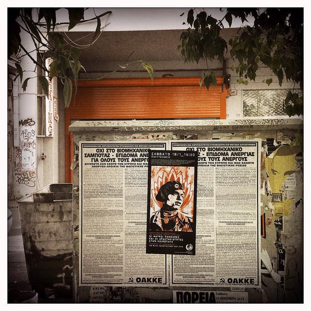 Dans les rues d'Athènes