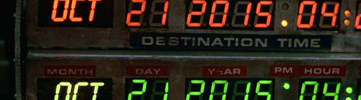 N'essayez pas de régler votre téléviseur calendrier, nous sommes bien le mercredi 21 octobre 2015. Le 21/10/215… Nom de Zeus, la Delorean vient d'arriver ! A vous de choisir si vous préférez le 2015 de ce film culte ou notre 2015, bien moins fun. Votre serviteur ne cache pas qu'il aurait bien aimé chroniquer la […]