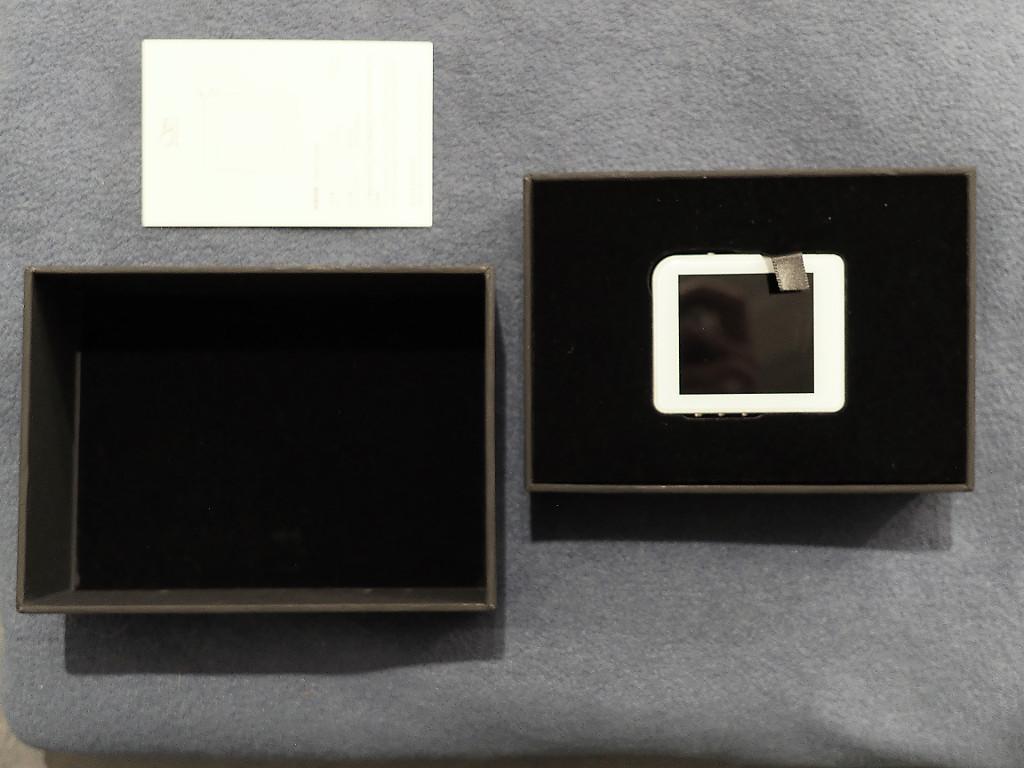 Packaging du Shanling M1