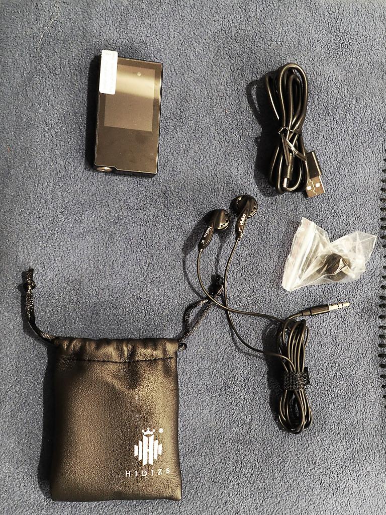 Packaging du Hidizs AP60